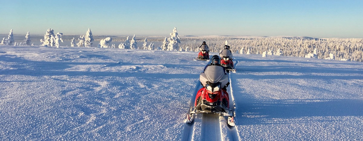 Polar Creek | Snowmobile tours